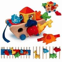 houten speelgoed ark van Noach