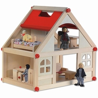houten speelgoed poppenhuis